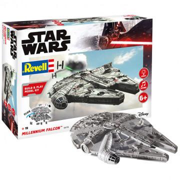 Build & Play Star Wars Millennium Falcon 1:164