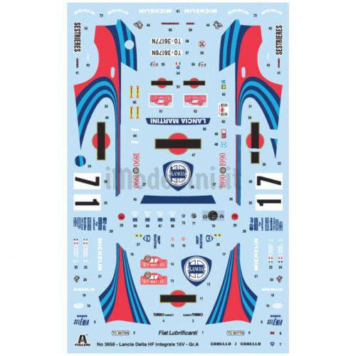Lancia Delta HF Integrale 1:24