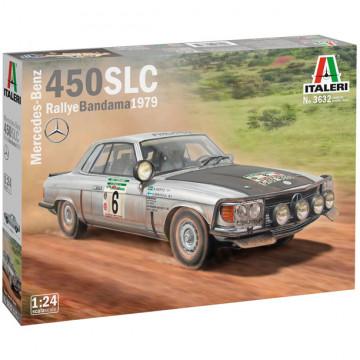 Mercedes-Benz 450 SLC Rally Bandama 1979 1:24