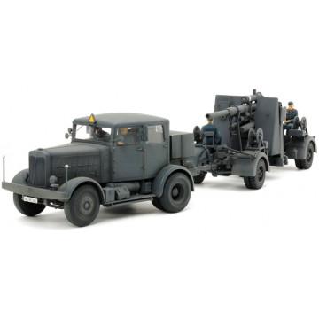 Camion Pesante SS-100 e Cannone Flak37 da 88mm 1:48