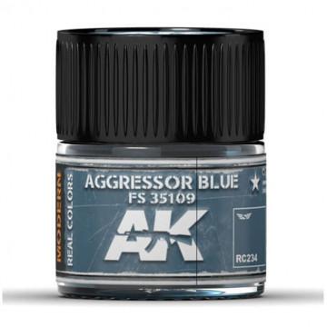 Vernice Acrilica AK Real Colors Aggressor Blue FS 35109 10ml