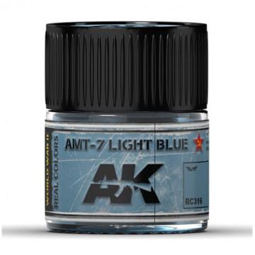 Vernice Acrilica AK Real Colors AMT-7 Light Blue 10ml