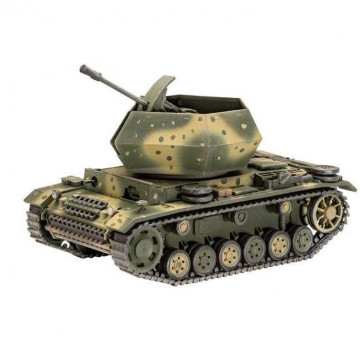Carro Antiaereo Flakpanzer III Ostwind 3,7 cm Flak 43 1:72