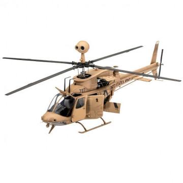 Elicottero OH-58 Kiowa 1:35
