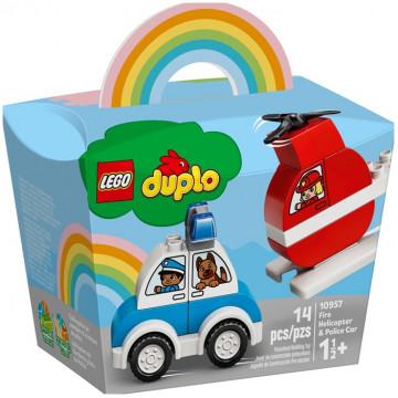 Duplo - Elicottero antincendio e Auto della polizia