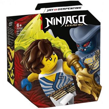 Ninjago - Battaglia Epica: Jay vs Serpentino