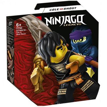 Ninjago - Battaglia Epica: Cole vs Guerriero Fantasma