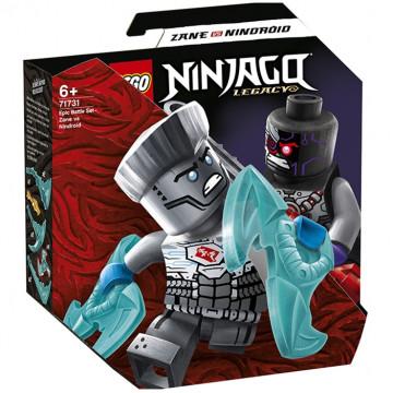 Ninjago - Battaglia Epica: Zane vs Nindroid
