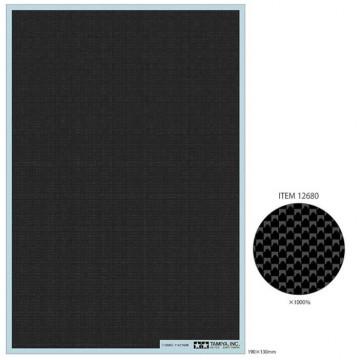 Decal Effetto Carbonio Tessitura Plain Extra Fine