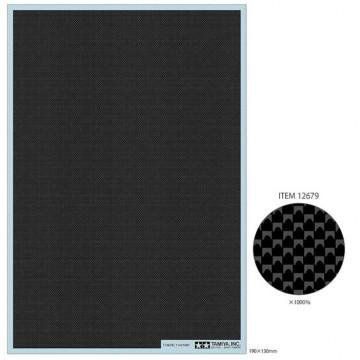 Decal Effetto Carbonio Tessitura Plain Fine