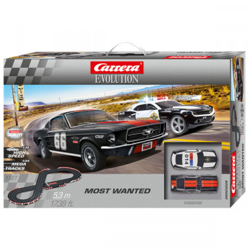 Pista Elettrica Carrera Evolution Most Wanted