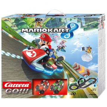 Pista Elettrica Carrera GO Nintendo Mario Kart 8