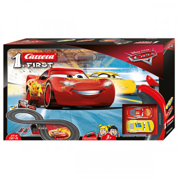 Pista Elettrica Carrera First Disney Pixar Cars 2,4 metri